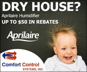 Comfort Control Systems in Green Bay, Wisconsin is offering several great offers!