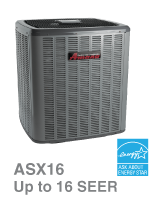 Comfort Control Systems sells and installs Amana Air Conditioner Model ASX16 in the Green Bay, Wisconsin area