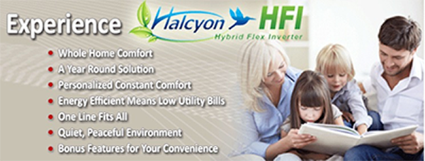 Comfort Control sells and installs Haylycon Hybrid Flex Inverter air conditioning systems in the Green Bay, Wisconsin area