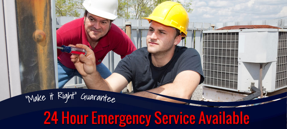 24 Hour Emergency Service from Furnace and Air Conditioning Specialist in Green Bay, WI