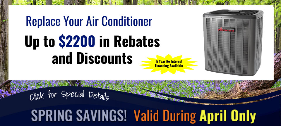Spring Savings on Air Conditioners in Green Bay, WI