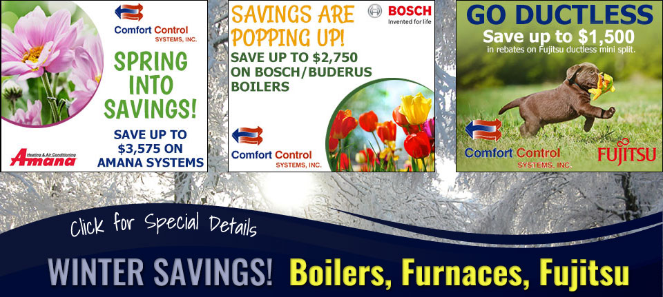 Winter Savings on Furnaces, Boilers, and Humidifiers in Green Bay, WI