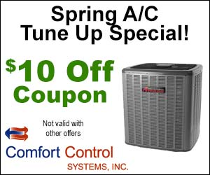 $10 Coupon on Spring A/C Tune Up