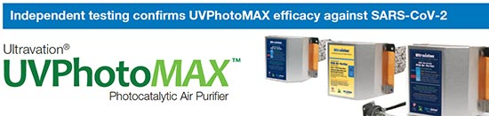 UV Photomax Kills Covid-19 Independent Study HVAC
